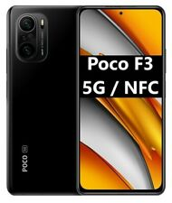 "Xiaomi Poco F3 5G NFC Dual Sim 128GB+6GB RAM 6,67"" Smartphone Pocophone NERO"