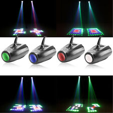 Stage Effect Lighting Club Disco Bar Party Music Active RGBW LED Lights Laser US