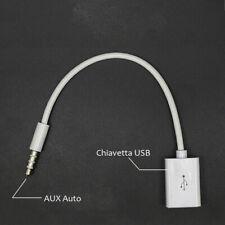 Adattatore adapter da usb femmina a Jack 3.5 Maschio connettore AUX auto Audio