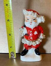 Vintage Napco 1950's Christmas Santa Claus Salt & Pepper Shaker SINGLE Spaghetti