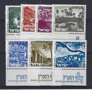 ISRAEL Yvert n° 532/538 neuf sans charnière