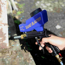 18 oz Sandblasting Gun Gravity Sandblaster Gun Kit Mini Nozzle Sandblast Gun