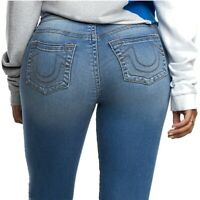 True Religion Women's Halle Super Skinny Fit Stretch Jeans in Baybreaker