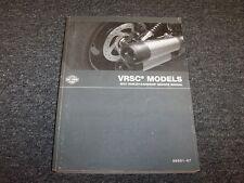 2007 Harley-Davidson VRSC Nightrod Street Rod Shop Service Repair Manual Book