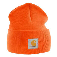 37c9e282140 Carhartt Acrylic Watch Cap - Bright Orange Mens Winter Beanie Ski Hat