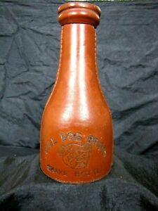 CLASSIC EARLY 1900'S BRUNSWICK  BALKE COLLENDER CO. BULL DOG BRAND SHAKE BOTTLE
