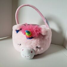 Dan Dee Collector's Choice Pink Unicorn Plush basket