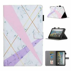 Fr Amazon Kindle Fire HD 8 /8 Plus 2020 10th Gen Tablet Leather Stand Case Cover