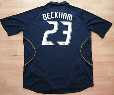 LA GALAXY 2008-2009 Away Football Soccer shirt jersey Top XL Adulte #23 Beckham