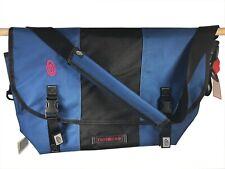 TIMBUK2 San Francisco : CLASSIC MESSENGER BAG : large / 28 litre / blue & black