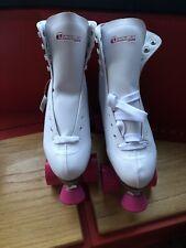 Chicago Skates Women's White Quad Skates -Size 10 BNWT