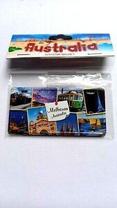 Australia Melbourne Souvenir Magnet. Arts Centre, Tram Design NEW Great Gift