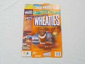 Richard Petty #43 Nascar Legends Of Racing Wheaties Cereal Box (Flat) 2000