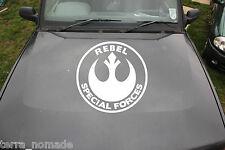 Large Rebel Forces Sticker, Decal, Star Wars