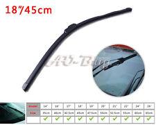"18"" Soft Quality Bracketless Frameless AAA Rubber Window Windshield Wiper Blade"