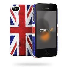 Cygnett Great Britain Union Jack Case/Cover For iPhone 4/4S NEW Soft Feel