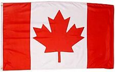 Large 3' x 5' High Quality 100% Polyester Canada Flag - Free Shipping