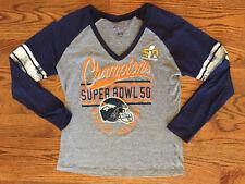 XL Women s G-III For Her Carl Banks Denver Broncos Super Bowl Champions  Shirt 6b91721df