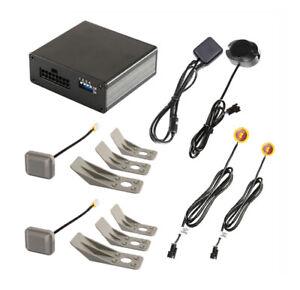 Toter-Winkel-Assistent mit Radarsensoren und GPS-Speed-Modul - für Kfz bis 6m