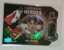 2011-12 BLACK DIAMOND HARDWARE HEROES ERIC LINDROS SN /100
