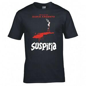 "INSPIRED BY DARIO ARGENTO ""SUSPIRIA"" CULT MOVIE T-SHIRT"