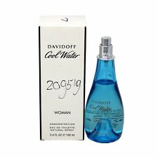 COOL WATER WOMAN BY DAVIDOFF EAU DE TOILETTE SPRAY 100 ML/3.4 FL.OZ.NO CAP (T)