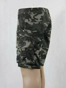 Men's Army Camoflauge Comb Cargo Short, Pant, Army Green, Army Grey Size 28-44