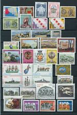 ITALY 1980 MNH COMPLETE COMMEMORATIVE (No Def) YEAR 34 Stamps