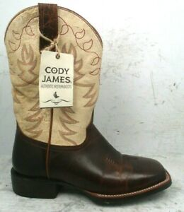 Cody James Mens Embroidered Montana Zero Gravity Western Boot BBMP02 size 8.5 EE