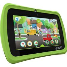"""LeapFrog 31576 Epic 7"""" Touchscreen 1.3GHz 16GB Android-based Kids Tablet , Green"""