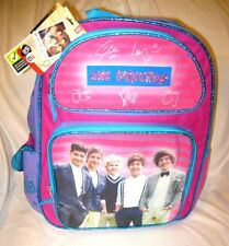 "One Direction Louis Tomlinson,Niall Horan,Liam Payne+Harry Styles 16"" Backpack"