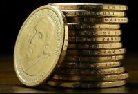 Echte Münze - Presidential Dollar Coin USA - Ganz neu! Kostenloser Versand