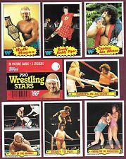 1985 Topps WWF Wrestling 4/$1. You Pick #s 3 5 23 25 26 27 33.....52 53 54 55 63