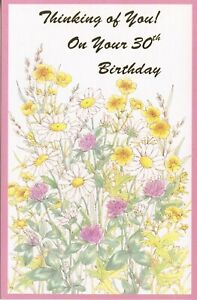 Popular Greetings Birthday Card: Happy 30th To Someone Who Deserves Life's Best