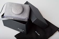 PAUL SMITH GREY MOCK CROC LEICA D-LUX 3 4 5  LEATHER CAMERA CASE New RRP £200