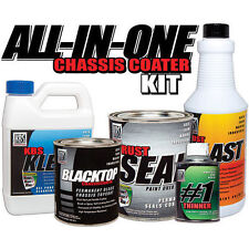 Satin Black - All-In-One Chassis Coater Kit - includes Topcoat - KBS Coatings