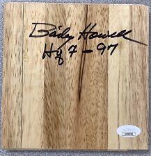 Bailey Howell Signed Floor Board Basketball Court Bos Celtics Autograph Insc JSA