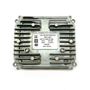 OEM For 16-18 Cadillac CT6 LED LED Light Computer Control Unit Module 0837596