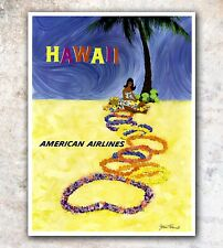 "Hawaii Art Travel Poster Wall Decor Print 12x16/"" A486"