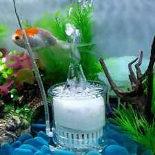 Aquarium Biochemical Sponge Filter Fish Tank Water Activated Carbon Submersible