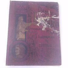 Vintage DANTE'S INFERNO Gustave Dore Thompson & Thomas Publishers with issues