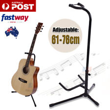 New Folding Electric Acoustic Bass Tripod Guitar Stand GIG Floor Rack Holder AU