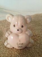 Enesco PRECIOUS MOMENTS NIGHT LIGHT Nite Lite Bear I Love You Porcelain