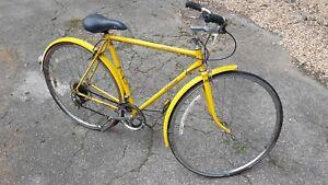 Raleigh Sprite Vintage Bicycle  Commuter Bike