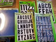 LETTERS NUMBERS SYMBOLS Self-Adhesive Sticky Hy-Ko 1
