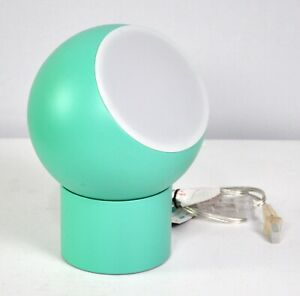 Pillowfort Metal Accent Table LED Turquoise Green Lamp Kids Bedroom Décor