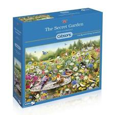 The Secret Garden Jigsaw Puzzle - By Greg Giordano & Gibsons - 1000 Pieces - NEW