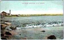 """MONCTON, New Brunswick  Canada   """"THE BORE""""  ca 1910s  Postcard"""