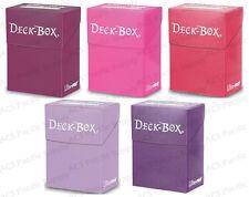 Ultra Pro Deck Box Combo Lot Blackberry / Bright Pink / Fuchsia / Lilac / Purple