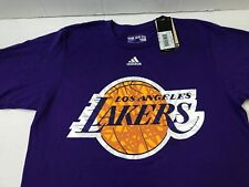 d99346178b0 NBA Los Angeles Lakers adidas S/s Go to Tee Purple Size Men's Large